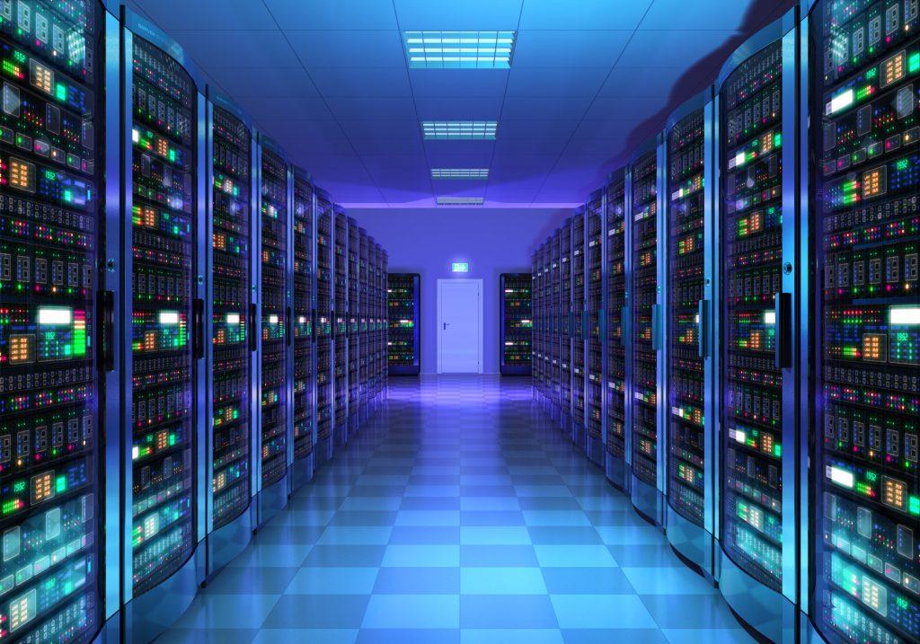 Data Center Servers Room